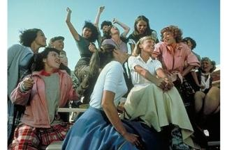 Grease Movie Stills: A musical scene